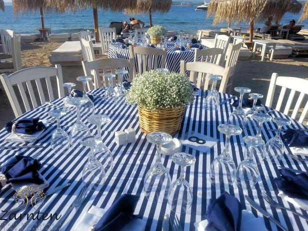 Διακόσμηση δεξίωσης γάμου με πανέρια