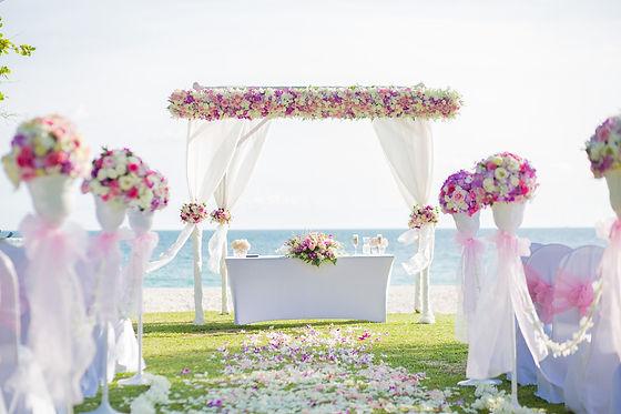 Διακόσμηση γάμου στις Σπέτσες