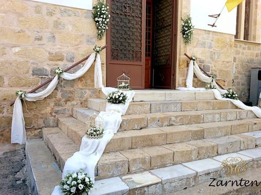 Διακόσμηση γάμου στο Κρανίδι