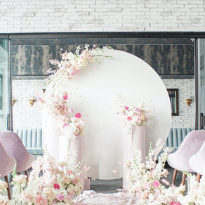 Pink Whimsy Editorial ft. on WedLuxe Toronto
