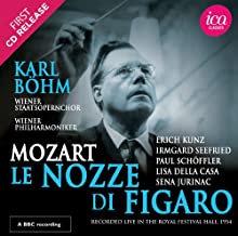 Karl Bohm Mozart les Noces de Figaro Wiener Philharmoniker