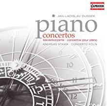 Dussek piano concertos Staier