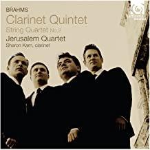 Jerusalem Quartet Brahms Sharon Kam Quatuor Op.51/2 Quintet Op.115