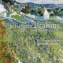 Quatuor Prazak Brahms Sextet 0p.18 et Op.36