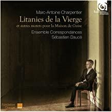 Ensemble Correspondances Sébastien Daucé Charpentier litanies de la Vierge