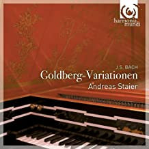 Staier Bach Variations Goldberg