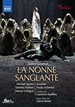 GOUNOD: La Nonne Sanglante Accentus Laurence Equilbey DVD