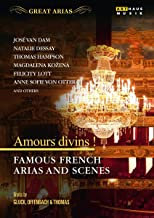 Coffret DVD Amours divins Famous french arias