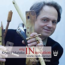 Originnovation Krystof Maratka Michel Lethiec Works with Clarinet