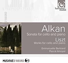 Bertrand Amoyel-Emmanuelle Bertrand Sonates Violoncelle-Piano Alkan/Liszt