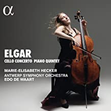 Concerto pour violoncelle Elgar Marie -Elisabeth Hecker Antwerp Symphony Orchest