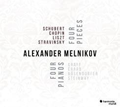 Alexander Melnikov 4 pianos 4 works Schubert/Chopin/Liszt/Stravinsky
