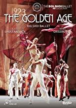 DVD Golden Age Bolshoi Ballet