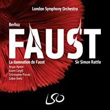 Berlioz La Damnation de Faust Sir Simon Rattle LSO