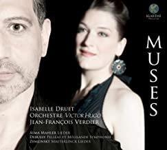 Isabelle Druet Orchestre Victor-Hugo Franche-Comté Mahler-Debussy-Zemlinsky