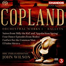 Copland Orchestral Work Vol1 Ballet John Wilson
