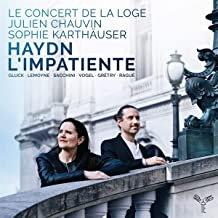 Haydn l'Impatiente Concert de la Loge Julien Chauvin
