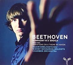 Beethoven Brahms Maxim Emelyanychev