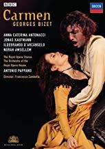 Bizet Carmen Antonio Pappano Anna Caterina Antonacci DVD