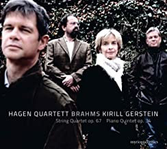 Hagen Quartet Brahms Quartets N°3 Quintet Op.34