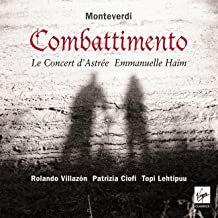 Haïm Concert d'Astrée Monteverdi Combattimento