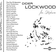 Didier Lockwood for Stephane