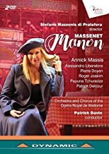 DVD Manon Massenet Annick Massis Stefano Mazzonis di Parafera DVD