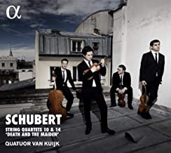 Quatuor van Kuijk Schubert Quatuors N° 10 & 14