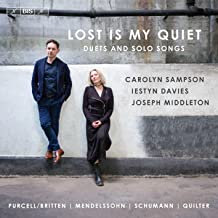 Carolyn Sampson Duets solo Songs Lost is my Quiet