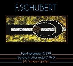 JC Vanden Eynden Schubert Four Impromptus D.899, Sonata in B Flat Major D.960