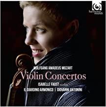 Isabelle Faust Mozart Concertos pour violon
