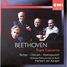 Beethoven Triple Concerto Karajan-Richter-Oïstrakh-Rostropovitch