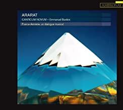 Canticum Novum Ararat Emmanuel Bardon France-Arménie, un dialogue musical