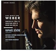 Raphaël Sévère Carl Maria von Weber Deutsches Symphonie-Orchester Berlin