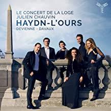 Haydn l'ours le Concert de la Loge Julien Chauvin