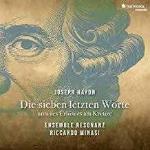 Haydn Die sieben letzten Worte Ensemble Resonanz Riccardo Minasi
