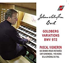 Bach Goldberg variations bwv 988 Pascal Vigneron Orgue