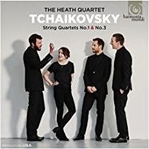 Heath Quartet Tchaikovsky Quatuors 1 & 3