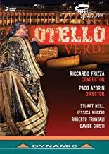 Verdi Otello DVD Ricardo Frizza