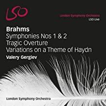 Brahms symphonies 1et 2 Gergiev LSO