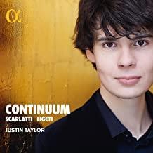 Justin Taylor Continuum Scarlatti Ligeti