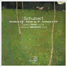 Isabelle Faust-)Alexander Melnikov Duos Piano-Violon Schubert