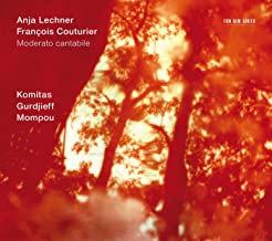 Anja Lechner-François Couturier Komitas/Gurdjieff/Mompou Violoncelle-Piano