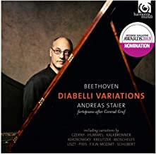 Beethoven Variations Diabelli Staier