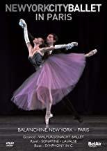 DVD New York City Ballet in Paris Balanchine