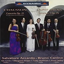 Chausson Concerto Op.21-Saint-Saens Sonate N°1 Salvatore Accardo