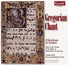 Gregorian Chant: Christmas & Easter Abbaye St Pierre de Solesmes