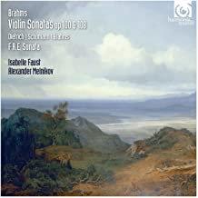Isabelle Faust-Alexandre Melnikov Brahms Violin Sonates N°2 et 3