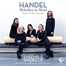 Ensemble Amarillis Heloise Gaillard Mélodies in mind