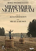 DVD Midsummer Night's Dream Royal swedish ballet